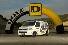 Dotz Tour Bus @ racetrack Spain