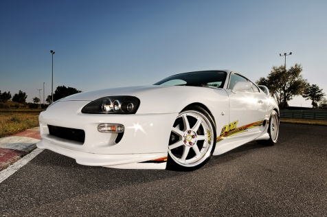 Dotz shooting @ racetrack - Toyota Supra -Set 2