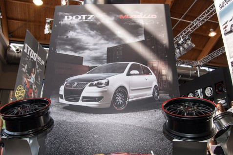 photos and graphic elements optimized for events - Tuning World Bodensee